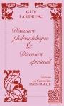 Discours philosophique et discours spirituel